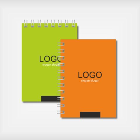 изготовление фирменных блокнотов с логотипом